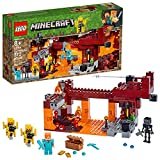 LEGO Minecraft The Blaze Bridge 21154 Building Kit (372 Pieces)