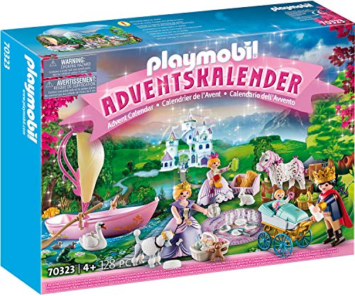 Playmobil Christmas 70323 - Calendario dell'Avvento Picnic Reale