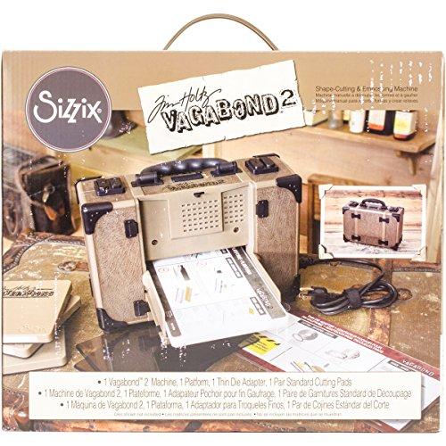 Sizzix Tim Holtz Vagabond 2 Electric Die Cutting Machine 660855, 6'...
