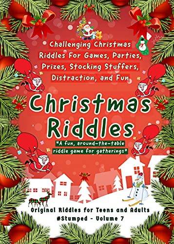 Christmas Riddles: #Stumped Volume 7 for Teens and Adults