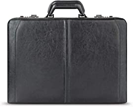 Solo New York Broadway Premium Leather Attaché Case, Fits up to 16 Inch Laptop,..