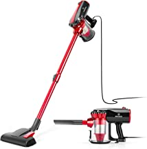 MOOSOO Vacuum Cleaner, 17KPa Strong Suction 4 in 1 Corded Stick Vacuum for Hard Floor..