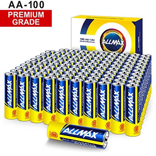 ALLMAX All-Powerful Alkaline Batteries -...