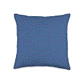 Kristalin Davis Pattern 599 Throw Pillow, 16x16, Multicolor