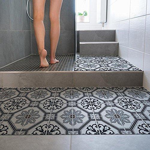 wall art 15 Pezzi 20x20 cm - PP00012 Decorazione Adesiva in PVC per Pavimenti su Materiale...