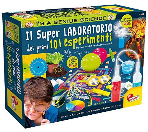Lisciani Giochi - I'm Genius Super Laboratorio dei Primi 101 Esperimenti, Multicolore, 8 - 12 anni, 69330