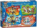 Ravensburger Puzzle, Paw Patrol, 4 Puzzle Shaped Giant, Puzzle Niños, Edad Recomandada 3+,...