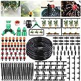 PATHONOR Kit d'irrigation Goutte 40M Kits d'arrosage automatiques Goutte à Goutte Système d'irrigation de Bricolage Jardin Tuyau pour Jardin, Pelouse, Plante,...