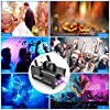 Smoke Machine, AGPTEK Fog Machine with 13 Colorful LED Lights Effect, 500W and 2000CFM Fog with 1 Wired Receiver and 2 Wireless Remote Controls, Perfect for Wedding, Halloween, Party and Stage Effect #1