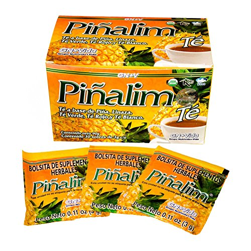 2 Pack Te Pinalim Tea GN+Vida Weight Loss Tea Diet 2