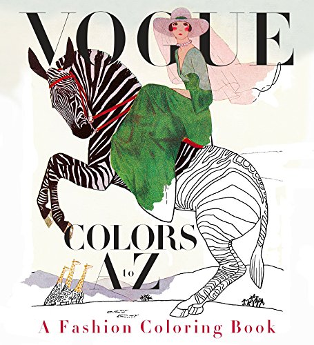 Vogue Colors A to Z: A Fashion Coloring Book (KNOPF)