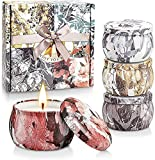 YINUO LIGHT Scented Candles Gifts Set for Women, Upgraded Large Tin of Soy Candle Scented Lavender Candle, Gifts for Mother's Day Birthday Anniversary