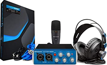 PreSonus AudioBox 96 Studio USB 2.0 Recording Bundle with Interface, Headphones,..