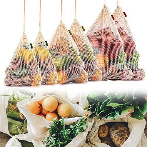 Zularr Movement, bolsas de 9 piezas ecológicas, reutilizables, de...
