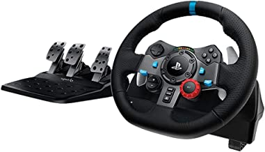 Logitech Dual-Motor Feedback Driving Force G29 Gaming Racing Wheel with Responsive Pedals..