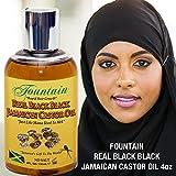 Fountain Real Black Black Jamaican Castor Oil 4 Ounce