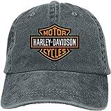 SBLB - Gorra ajustable con logotipo de Harley Davidson para mujer y hombre