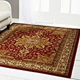 Home Dynamix 8083-200 Royalty Ursa Traditional Area Rug 5'2'x7'2', Oriental Red