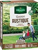 Vilmorin 4460415 Gazon Rustique, Vert, 3...