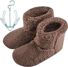 [Ninonly] 暖かい ルームシューズ ルームブーツ レディース メンズ ボアブーツ 室内履き冬用 滑り止め付き