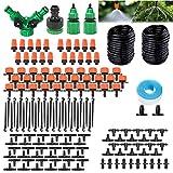 BaiYi Système d'irrigation Jardin,149 Pcs Micro Irrigation Goutte à Goutte Kit...