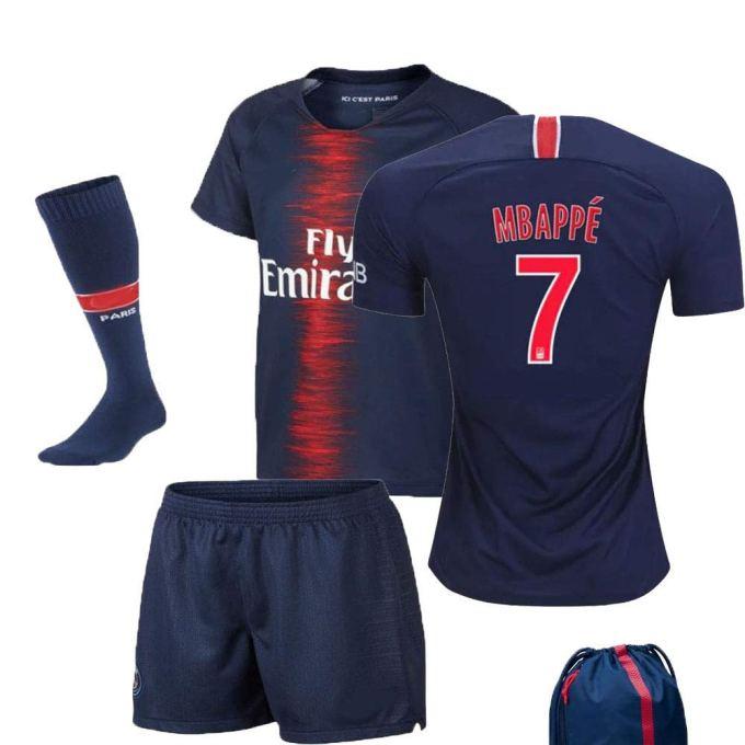 promo code d6948 30bd3 PSG Paris Saint Germain Serie A 2018 19 Neymar Mbappe Cavani ...