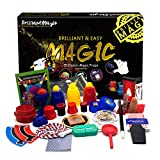 BrilliantMagic Magic Set Magic Kit for Kids Science Toys for Children Including 25 Classic Tricks Easy to Play Magic Best Gift for Boys Girls and Adult