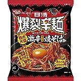 日清 爆裂辛麺 韓国風 極太大盛激辛焼そば 130g ×12袋