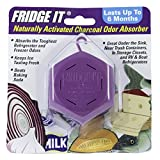 Innofresh Fridge-It- Refrigerator Deodorizer, Odor Absorber and Air Freshener- 3 Pack. Natural Activated Charcoal and Fragrance Free, Lasts up to 6-Months