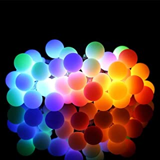 ALOVECO LED String Lights, 18ft 50 LED Battery Powered String Lights, 8 Modes with..