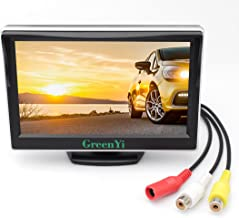 "GreenYi Vehicle On-Dash Backup Monitor, 5"" Digital HD Car TFT LCD Color Screen.."