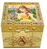 Disney Parks Exclusive Belle Beauty & the Beast Musical Jewelry Box