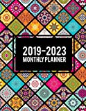 2019-2023 Monthly Planner: Colorful Mandala Book, 8.5' x 11' Five Year 2019-2023 Calendar Planner, Monthly Calendar Schedule Organizer (60 Months Calendar Planner)