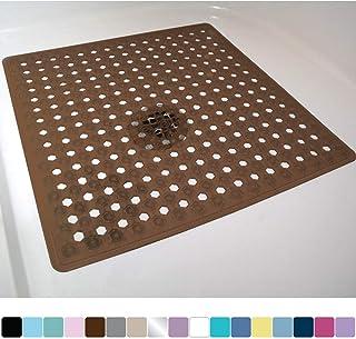 Gorilla Grip Original Patented Bath, Shower, and Tub Mat, 21×21, Machine Washable,..