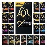 L'Or Espresso Café - 200 Capsules assortiment de 20 variétés - compatibles Nespresso©* (lot de 10 x 20)