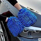Premium Car Wash Mitt - 2-Pack...