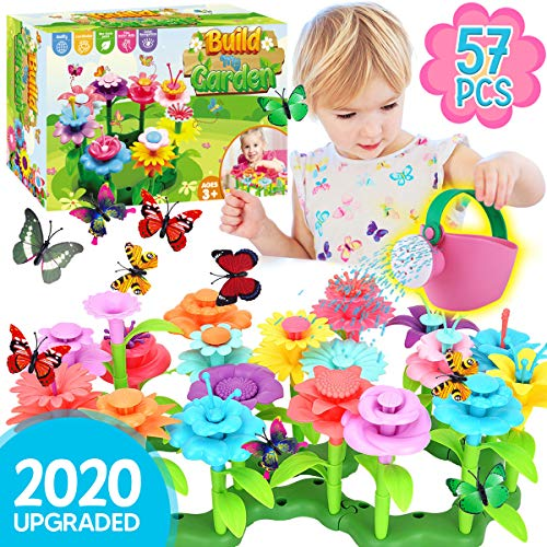 Innorock-Flower-Garden-Building-Toy-for-Kids-STEM-Toys-Pretend-Play-Gardening-Activity-Playset-for-Girls-and-Boys-Flowers-Stacking-Learning-Games-Gift-for-Toddlers-Age-3-4-5-6-7