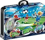 Playmobil - Grand Terrain de Football Transportable - 70244
