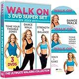 Walk On: 3-DVD Set: 6, 30 Minute Walking Workouts