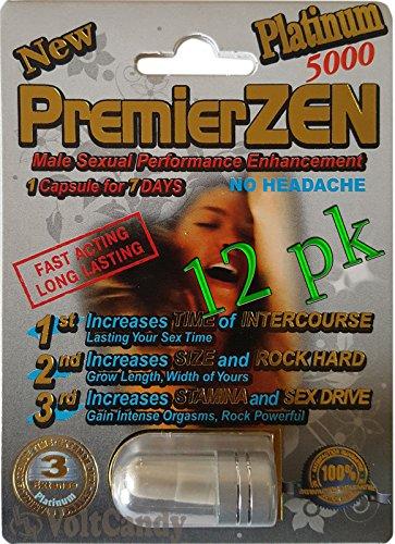 PremierZEN Platinum 5000mg Male Sexual Performance...