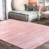 nuLOOM Moroccan Blythe Area Rug, 4' x 6', Pink