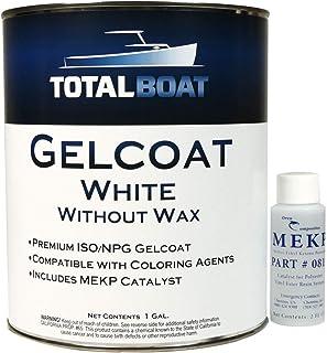 TotalBoat Marine Gelcoat for Boat Building, Repair and Composite Coatings