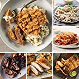 Ultimate Meals Pack from Omaha Steaks (Chicken Fried Steaks, Fully Cooked Pot Roast, Oven-Roasted Chicken Breasts, Marinated Salmon Fillets, Meat Lover's Lasagna, and more)