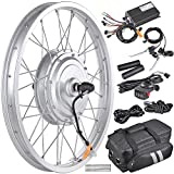 AW 20' Electric Bicycle Front Wheel Conversion Kit E-Bike 36V 750W Motor for 20' x 1.75'-2.1' Tire