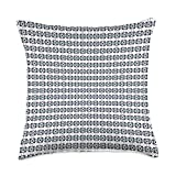Kristalin Davis Pattern 404 Throw Pillow, 18x18, Multicolor