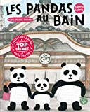 Les Pandas au bain