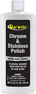 Best chrome polishes  Starbrite Chrome and Stainless Steel Cleaner Polish