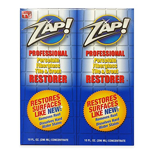 ZAP! Professional Cleaner Restorer Concentrate, Twin Pack