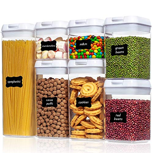 Airtight Food Storage Containers, Vtopmart 7 Pieces BPA Free...