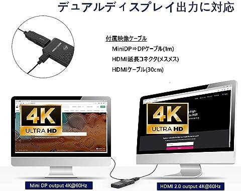 MINISFORUM S41 USBフラッシュメモリ128GB付属 4Kデュアルディスプレイ出力